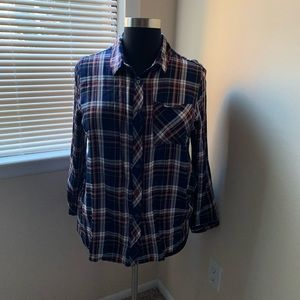 Avenue Plaid Shirt